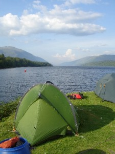 Camping in the Great Glen