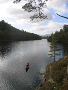 Paddling the Great Glen Canoe Trail