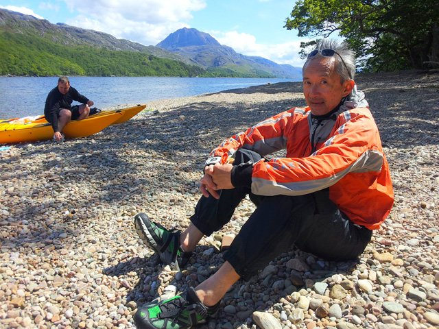 Best footwear for sea kayaking and canoeing in Scotland