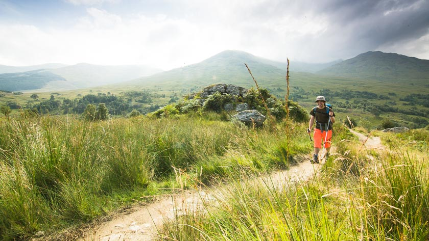 natural navigation for walking in Scotland