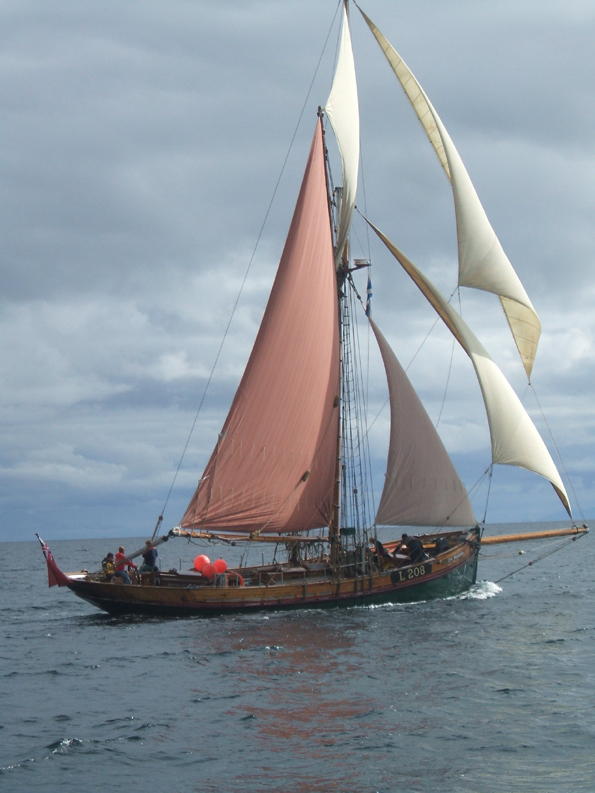 Sailing and Walking in the Scottish West Coast