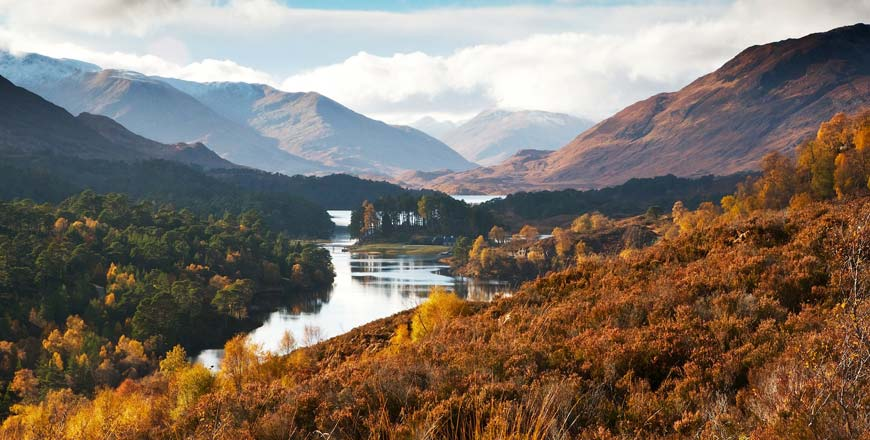 Visit Scotland in the autumn