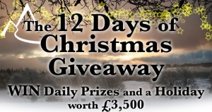 12 days of Christmas Giveaway - Trip of a Lifetime