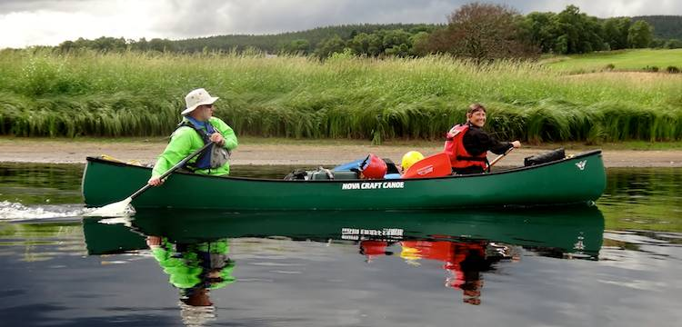 Open Canoeing Whisky Trail