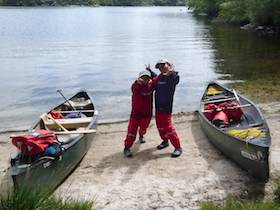 Family - Canoeing Great Glen Featured