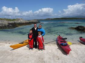 Family - Sea Kayaking Sound of Arisaig Featured