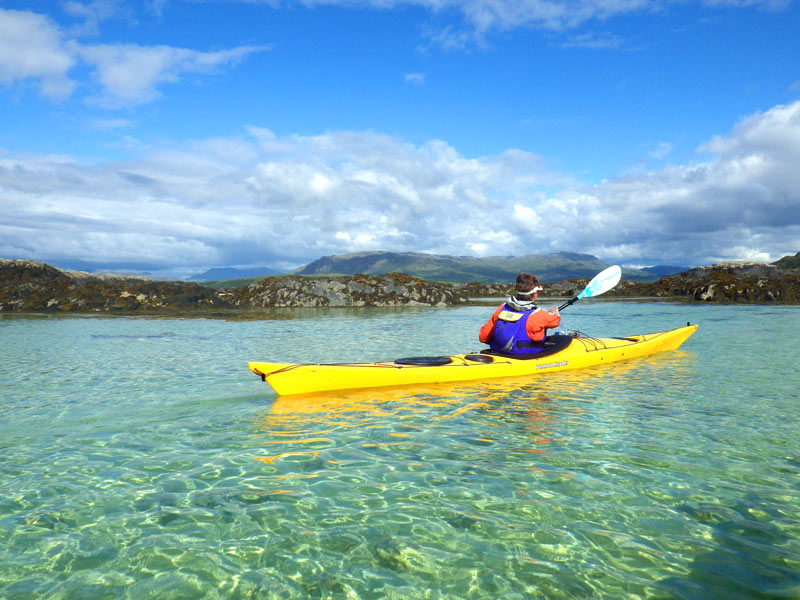 Top 5 Reasons to book a Sea Kayaking Holiday