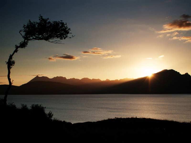 Sunset photos of Scotland