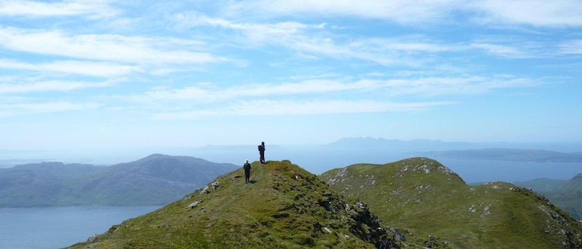 Private guiding on the Knoydart peninsula