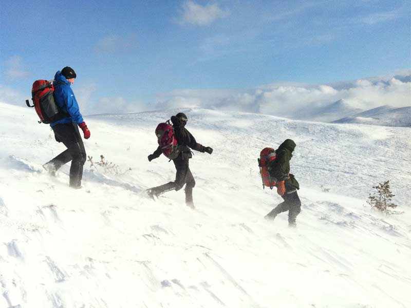 Winter Skills – The Cairngorms and Creag Meagaidh