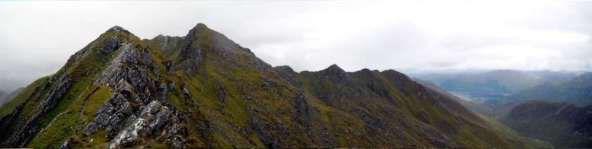 Kintail, One of the dramatic walks in the Highlands