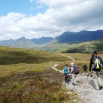 Heading north on the West Highland Way