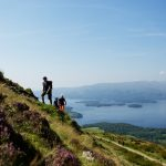 …to wide open views on the West Highland Way