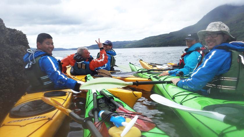 Sea Kayaking Team Sport