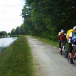 Biking by the Caledonian Canal