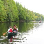 Canoeing the Caledonian Canal