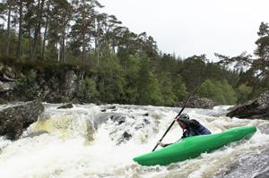 river kayaking Moriston