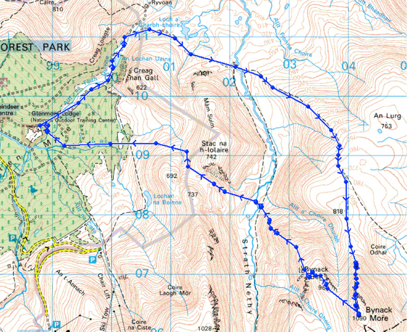 Top 5 Walking Routes Cairngorms: Bynack Mor and Stac an Iolaire