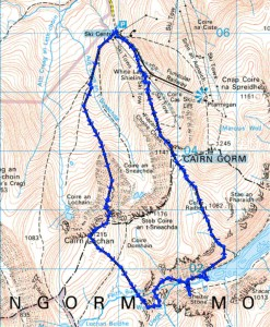 Top 5 Walking Routes in the Cairngorms: Fiacaill of Coire Lochan and Feith Buidhe