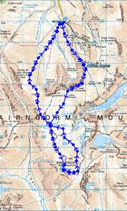 Ben MacDui Walking Route