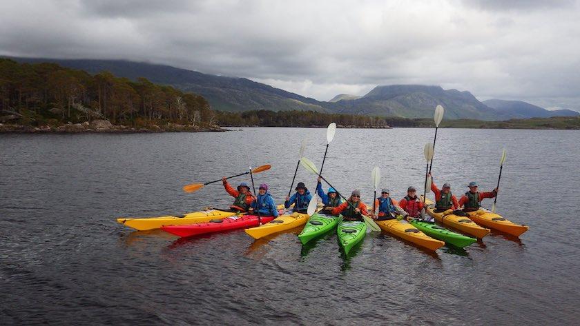 Top 5 Sea Kayaking Spots on the North Coast 500