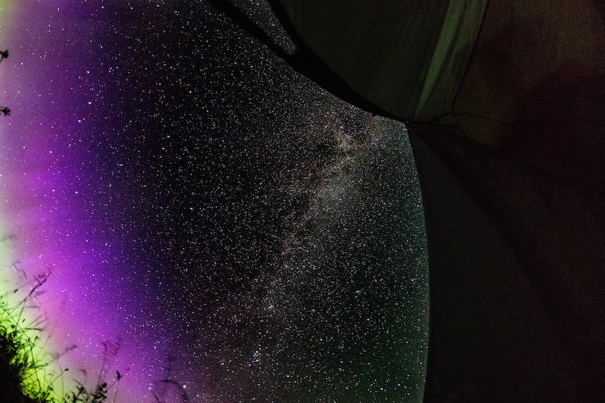Northern Lights and Milky Way extravagansa.