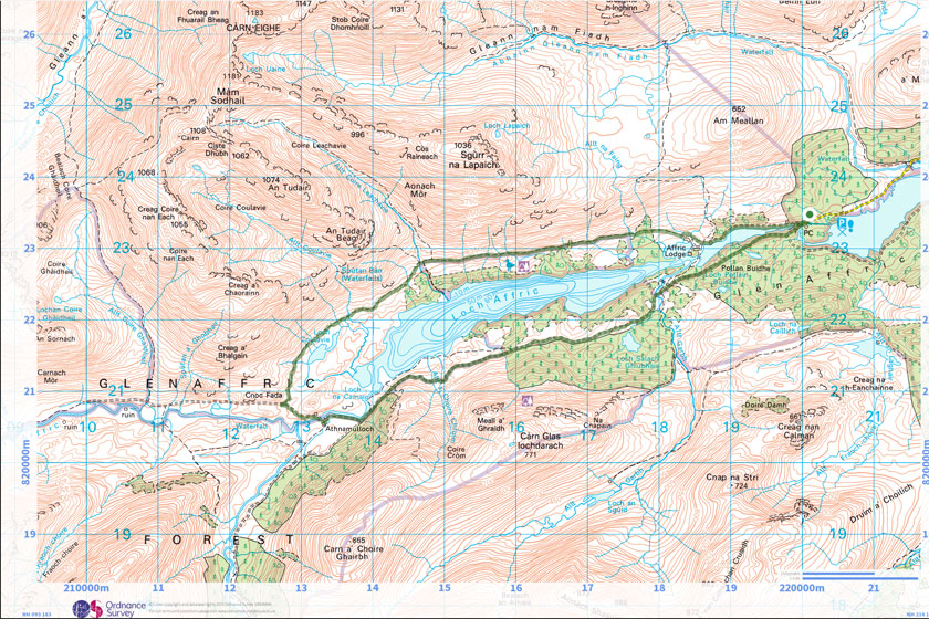 walking directions map with Top 5 Scottish Winter Walks Glen Affric on BohinjAlb also Directions To Opium Barcelona additionally Pryzm additionally Sekinchan Paddy Field further jmlucas.