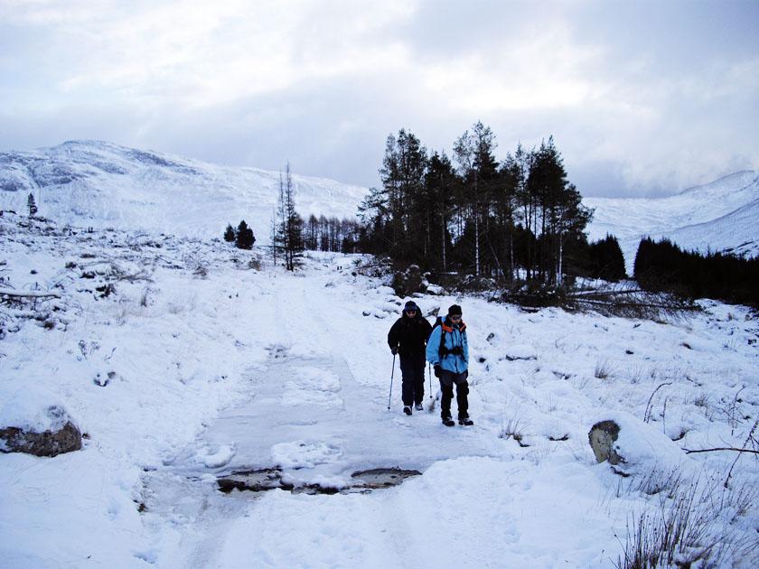 Top 5 Scottish Winter Walks: Kinlochleven