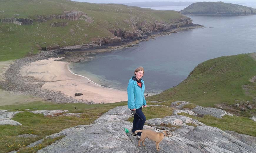 Wild Camping in Sheigra Bay, North of Kinlochbervie