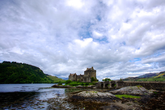 Most dramatic castles in Scotland