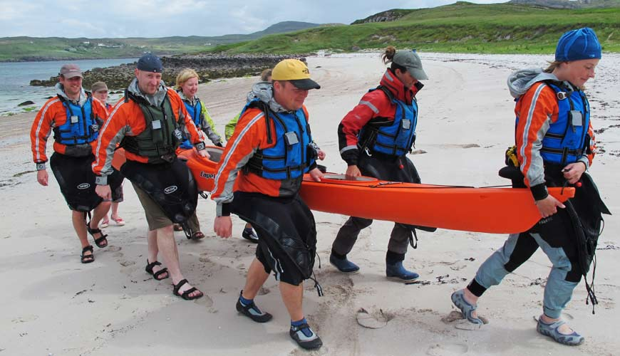Getting Fit for Sea Kayaking