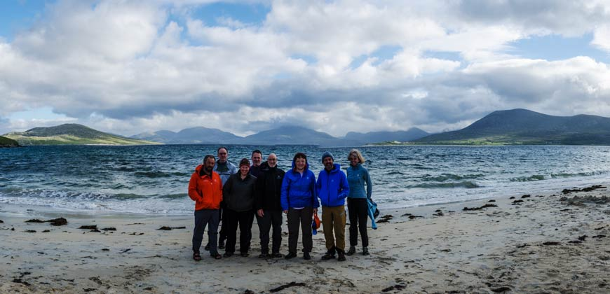 sea kayaking in the Outer Hebrides