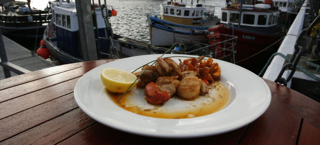 Orkney Isles Top Ten Hand dived scallops