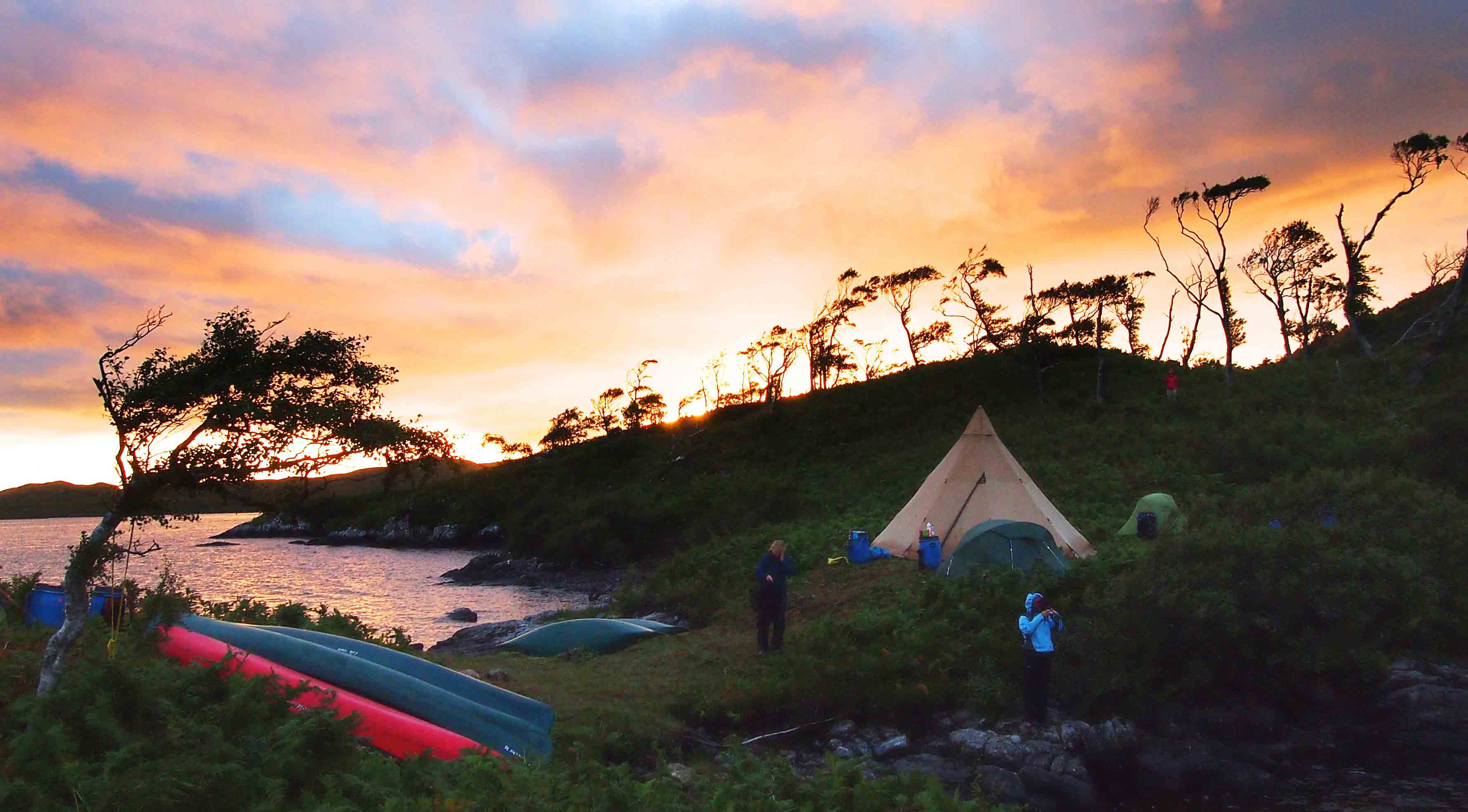 Whisky Month: Wild Camping on the Spey