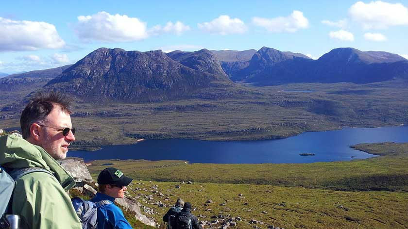 Stac Polly in Assynt