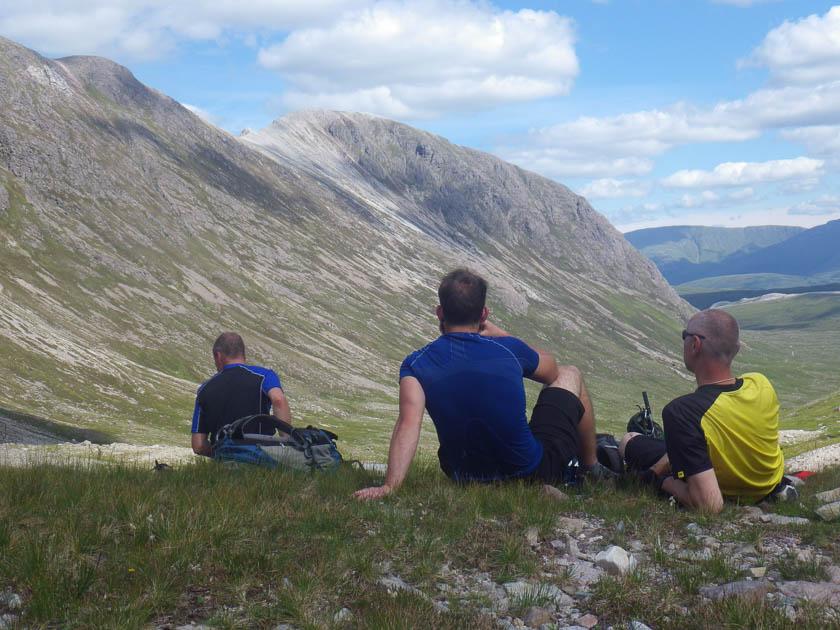 Gazing at the torridon mountains
