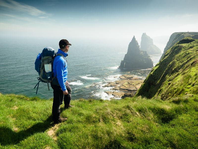 walking north highland