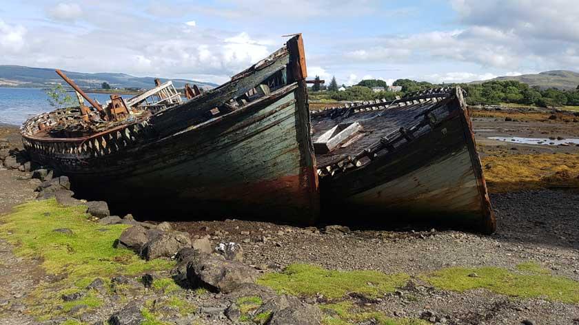 shipwreck oban