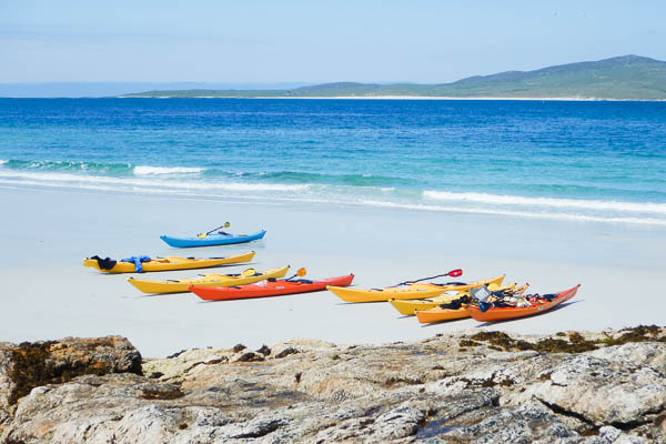 Sea Kayaking Outer Hebrides Top Locations