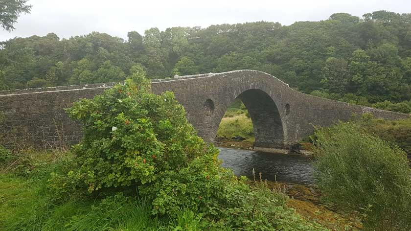 bridge tigh an truish - near Oban