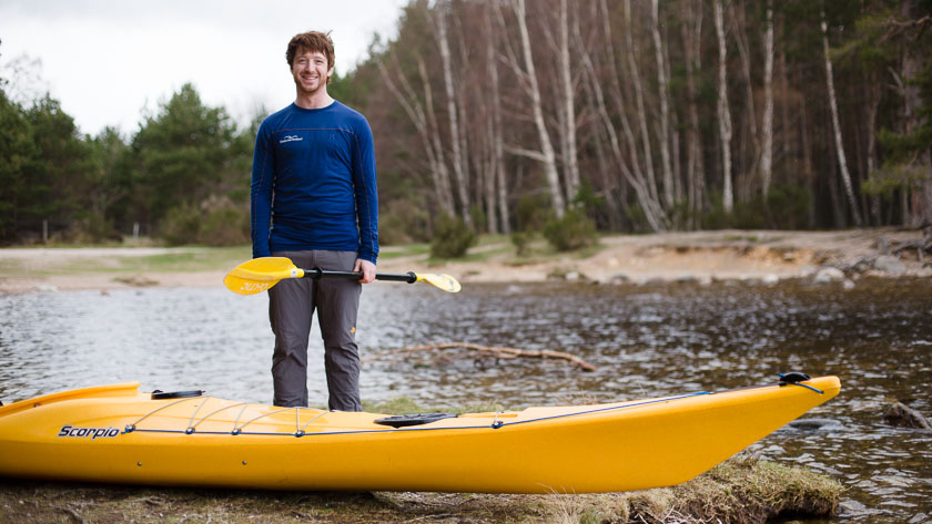 What to wear sea kayaking in Scotland