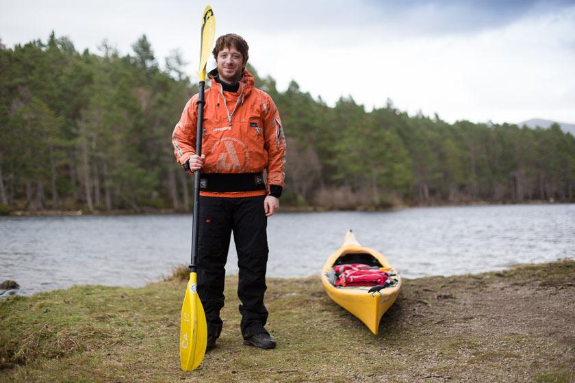 What to wear sea kayaking in Scotland-1