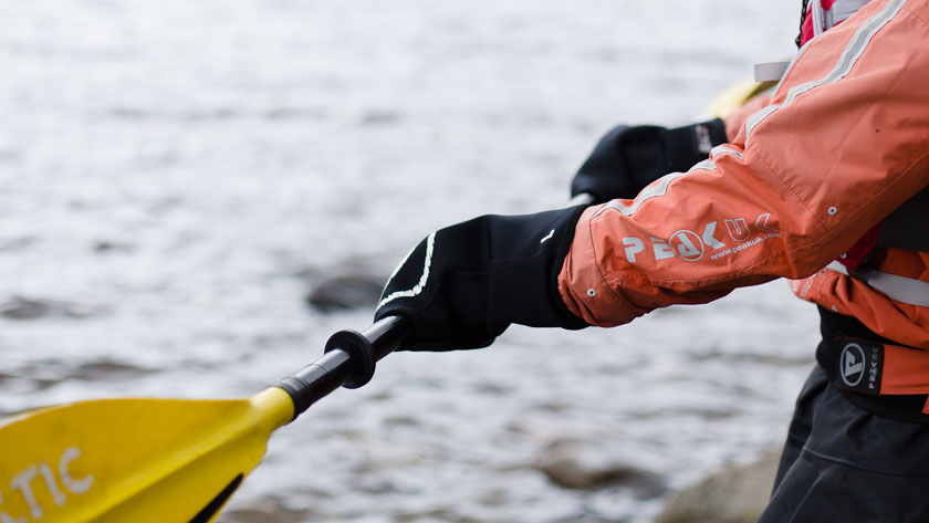 What to wear sea kayaking in Scotland-1