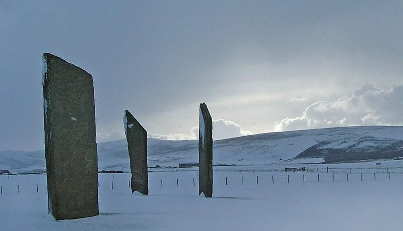 winter in orkney