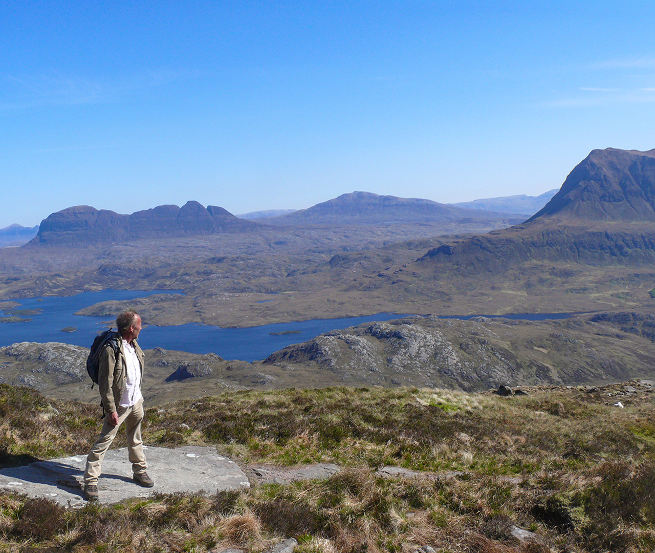 099ef0a043f6 Climb Suilven and other amazing mountains on our Wilds of Assynt walking  and hiking tour.